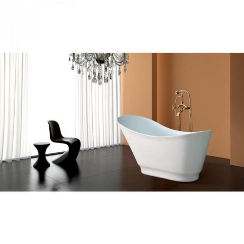 Baignoire ilot balneo cygne bain et confort - Baignoire ilot balneo ...