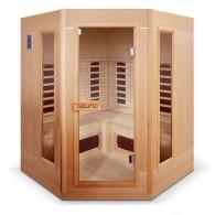 sauna infrarouge 3 à 4 places ethis