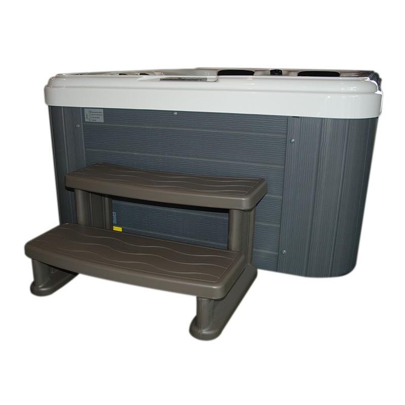 marche d 39 acc s pour spa warm grey bain et confort. Black Bedroom Furniture Sets. Home Design Ideas
