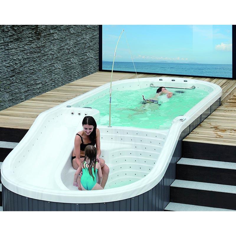 spa nage contre courant genova bain et confort. Black Bedroom Furniture Sets. Home Design Ideas