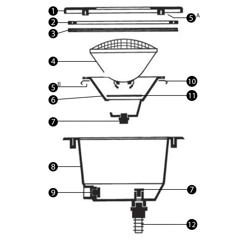 Presse etoupe guide d 39 achat for Presse etoupe projecteur piscine