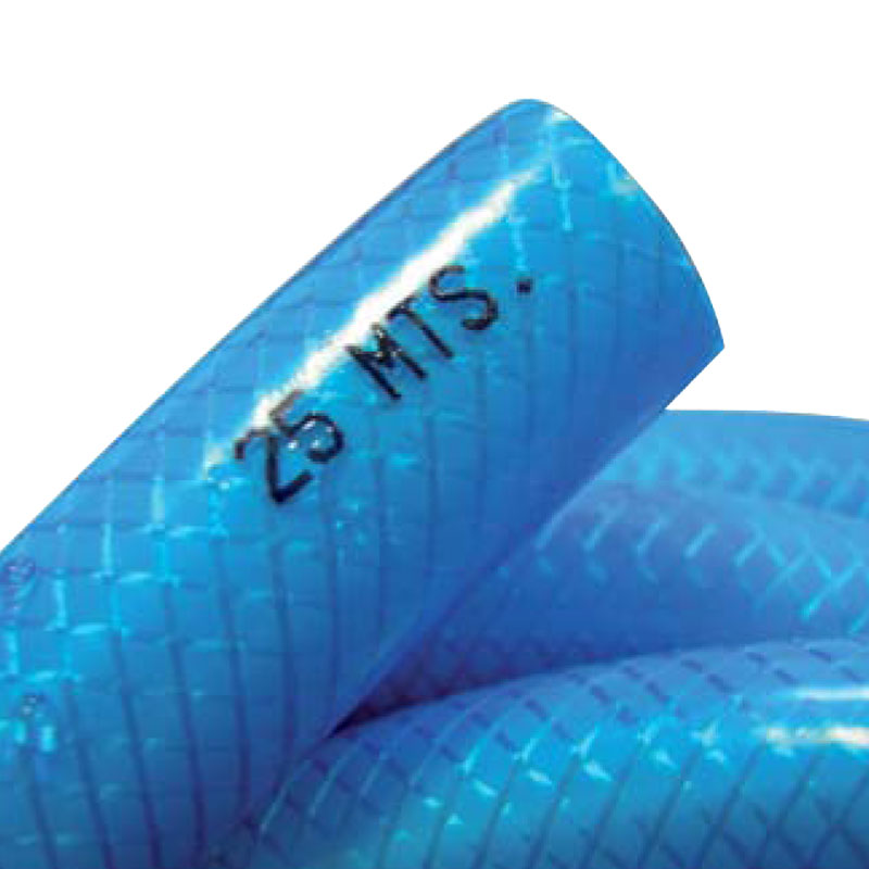 Tuyau Bleu Piscine 25m Équipement Entretien Nettoyage