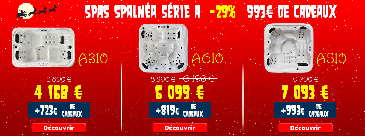Offres Noël spa Spalnéa