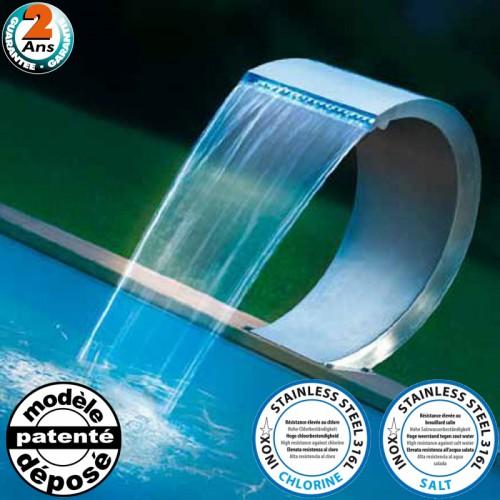 Cascade Mamba Led pour piscine - Ubbink