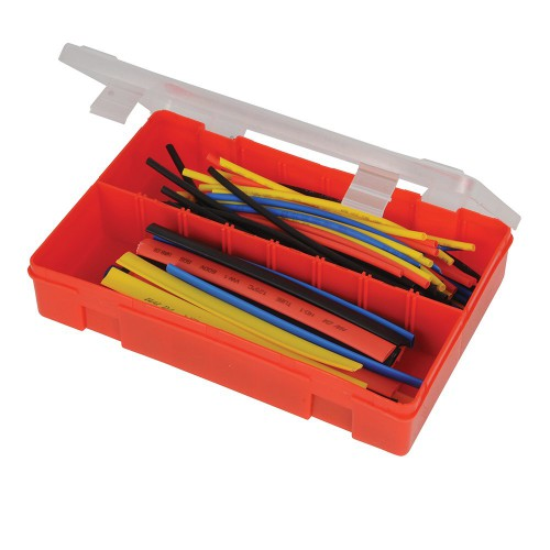 Coffret de gaines thermorétractables - 95 pièces - Silverline