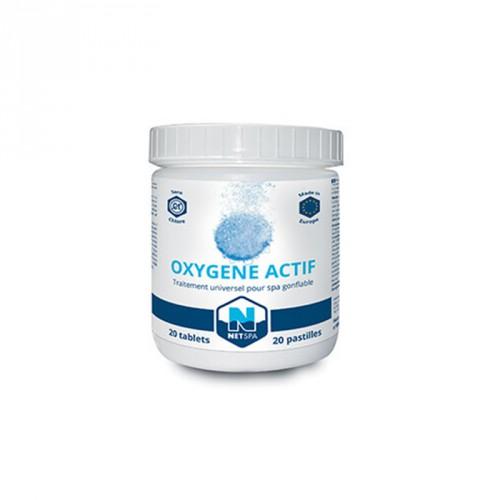 Traitement pour spa - Oxygène actif - NetSpa