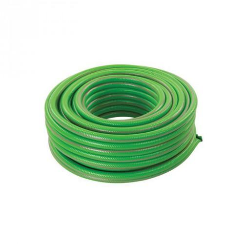 Tuyau d'arrosage vert PVC renforcé 15m