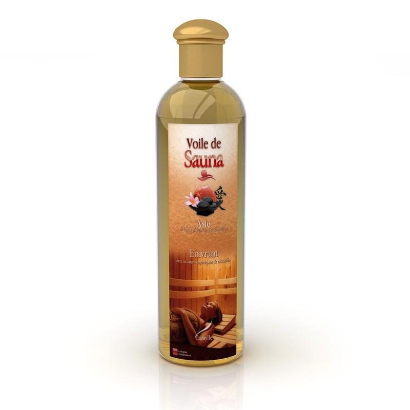 Huiles essentielles camylle voile de sauna bain et confort - Huile essentielle sauna ...
