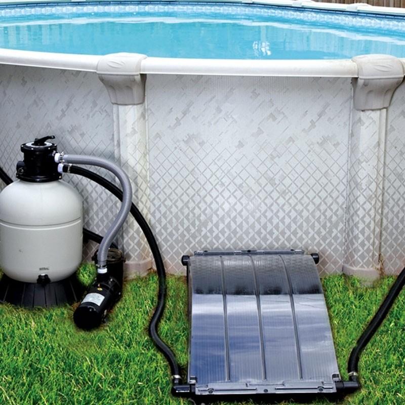 Chauffage solaire piscine hors sol solar arc bain et confort for Pompe d evacuation d eau pour couverture piscine hors sol