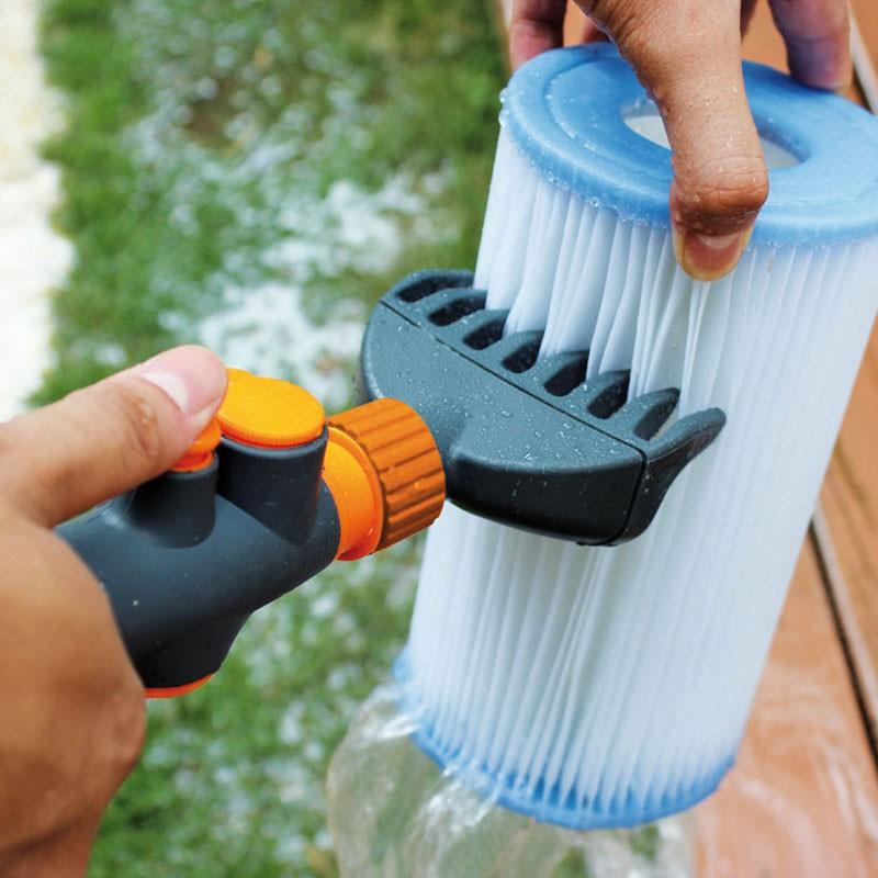 peigne de nettoyage pour filtre de spa entretien jacuzzi bain et confort. Black Bedroom Furniture Sets. Home Design Ideas