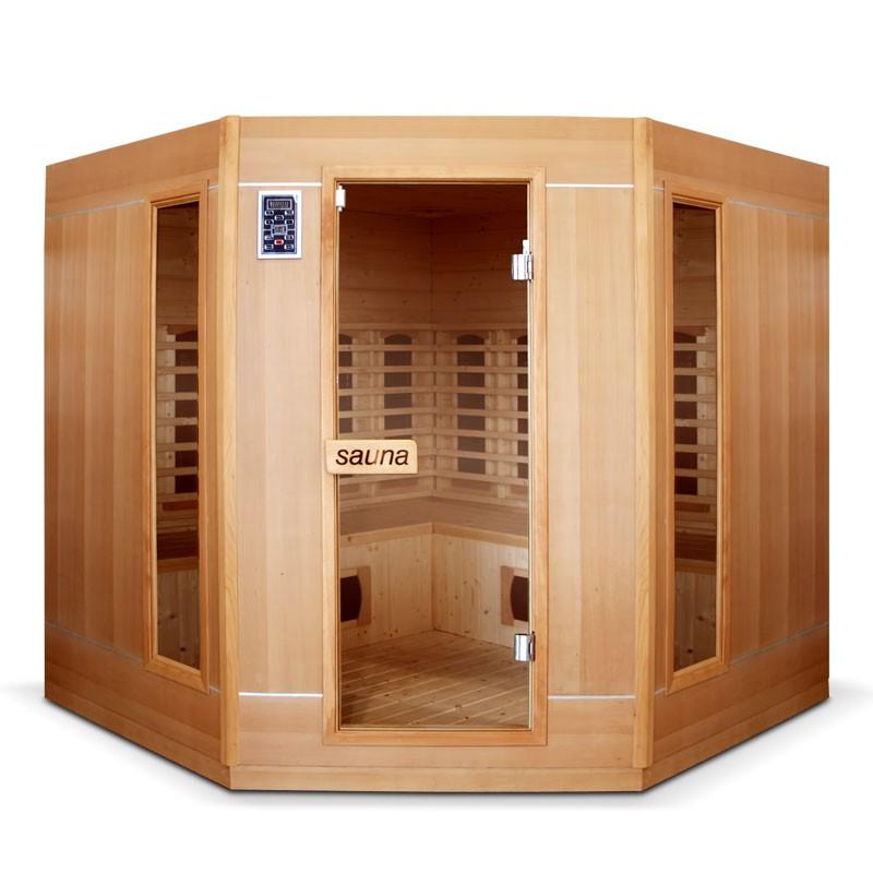 sauna infrarouge ethis grande 4 5 places bain et confort. Black Bedroom Furniture Sets. Home Design Ideas