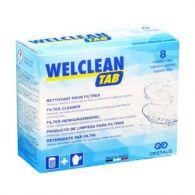 Nettoyant effervescent flovil 8 pastilles