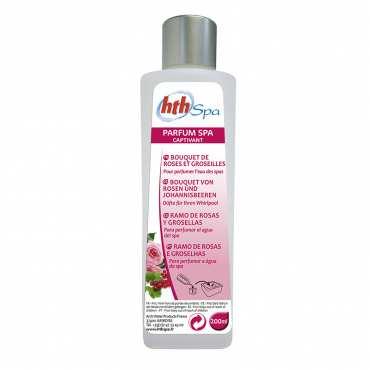Aromathérapie pour spa - Rose et Groseille - 200ml - HTH