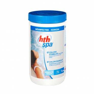 HTH Spa chlore stabilisé - Granulés - 1,2kg