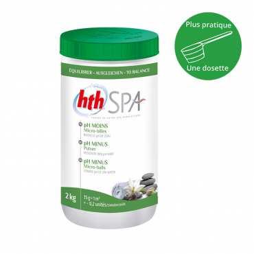 HTH Spa - pH moins - micro-billes - 2kg