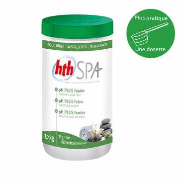 HTH Spa - pH plus - Poudre - 1,2kg
