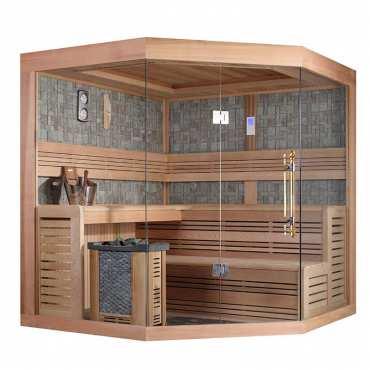Sauna de Luxe traditionnel 5 à 7 places Lumios