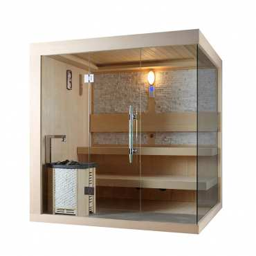 Sauna de Luxe traditionnel 5 à 7 places Olympi