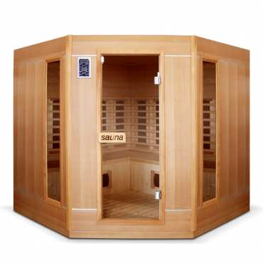 sauna infrarouge ankara 2 places bain et confort. Black Bedroom Furniture Sets. Home Design Ideas