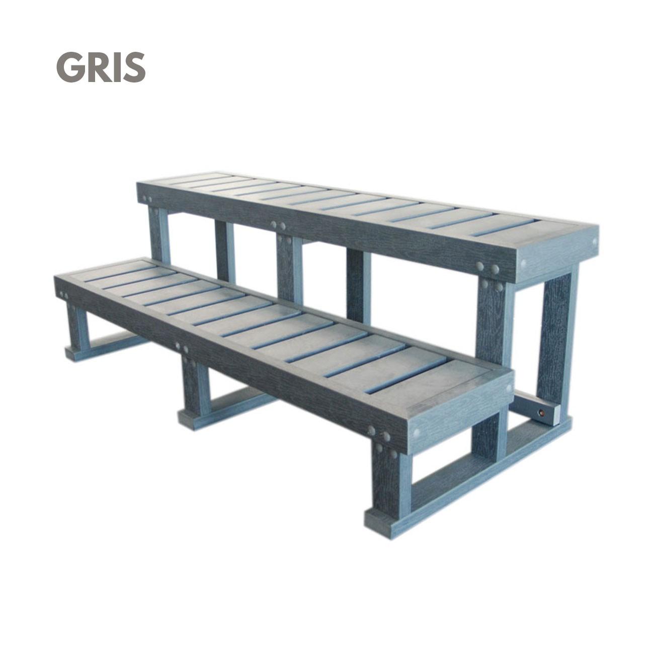 escalier extra large 2 marches spa jacuzzi bain et. Black Bedroom Furniture Sets. Home Design Ideas
