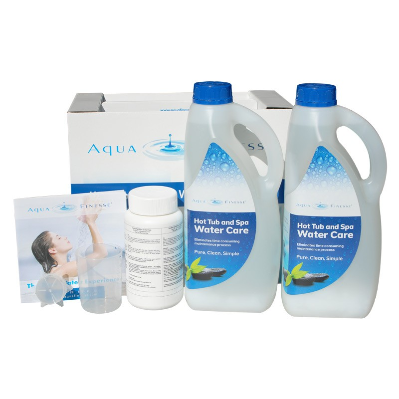 pack aquafinesse traitement de l 39 eau spa jacuzzi bain et confort. Black Bedroom Furniture Sets. Home Design Ideas