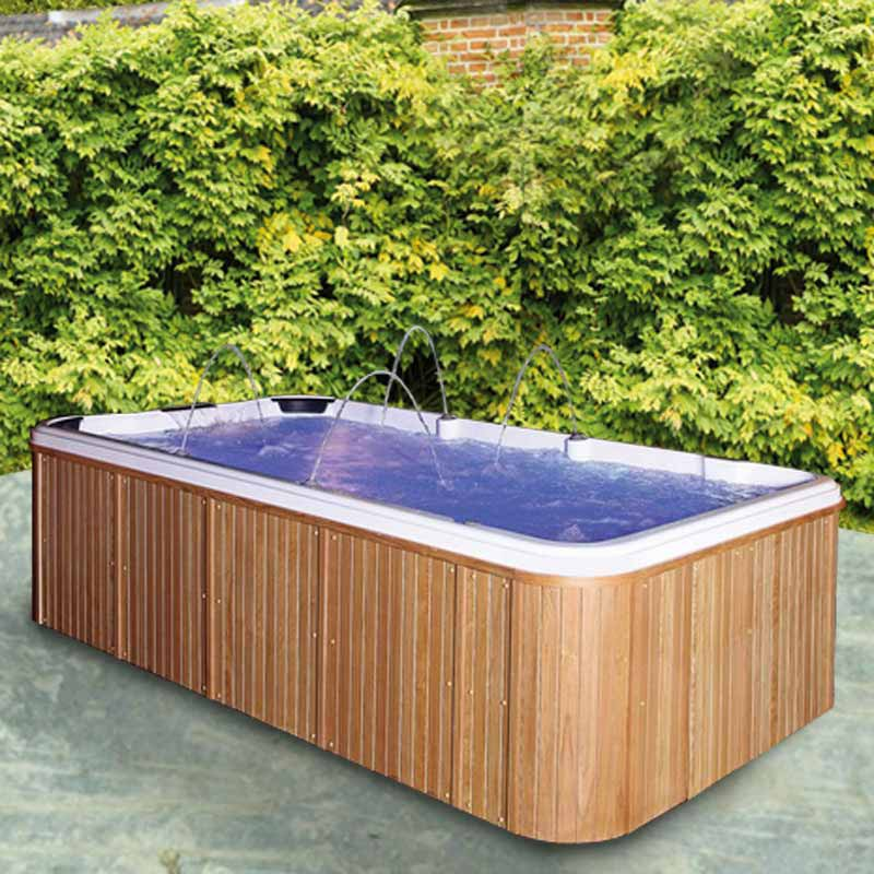 Spa de nage atlantis contre courant gamme swimazur for Piscine hors sol nage contre courant