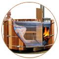 histoire du spa cuve en bois américaine