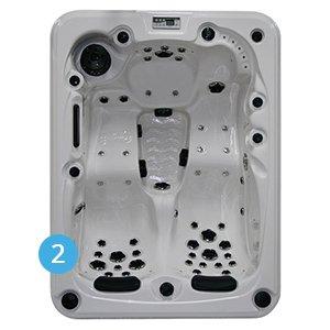 spa jade 3 places gamme evasion bain et confort. Black Bedroom Furniture Sets. Home Design Ideas